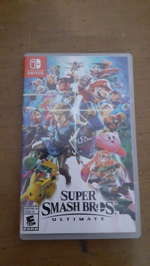 Super Smash Bros Ultimate for Sale in Cathedral City, CA