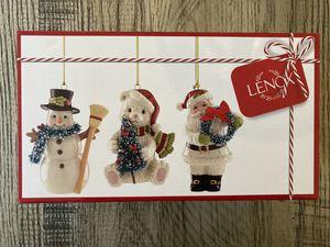 3 new Lenox Christmas ornaments for Sale in Marietta, GA