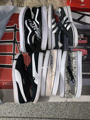 VANS PUMA ADIDAS SIZE 9.5-10.5 for Sale in San Diego, CA