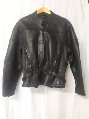 Heavy Custom ladies motorcycle jacket xxl for Sale in Wheat Ridge, CO