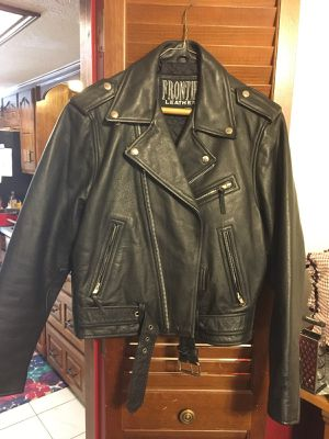 Woman's leather jacket obo for Sale in Dallas, TX