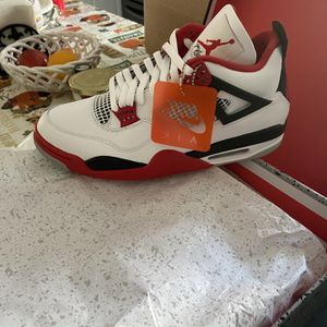 Nike Air Jordan Retro 4 Fire Red Size 12 for Sale in Monterey Park, CA
