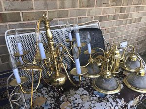 Hanging chandeliers $25 a piece and will install for additional price for Sale in Odenton, MD