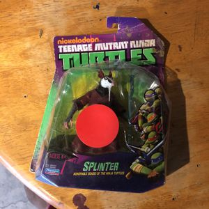 Teenage Mutant Ninja Turtles splinter Doll. They are selling for $60 on eBay. I just want to get rid of it for Sale in Long Beach, CA