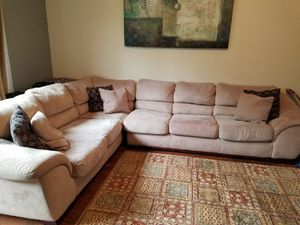 Sectional Queen size sofa bed for Sale in Fort Lauderdale, FL