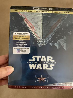 DVD Star Wars the rise of sky walker for Sale in Concord, CA