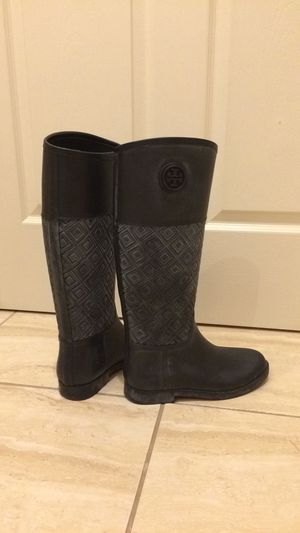 Tory Burch rain boots Size 8 for Sale in Smithtown, NY