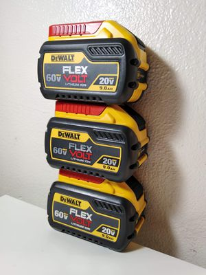 Dewalt Batteries 9.0 ah FLEX VOLT 60V-20V Lithium ion ($135 each one) Nuevas Firm Price for Sale in Los Angeles, CA