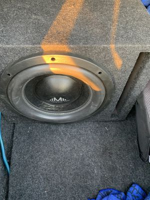 Subwoofer and amp for Sale in Chandler, AZ