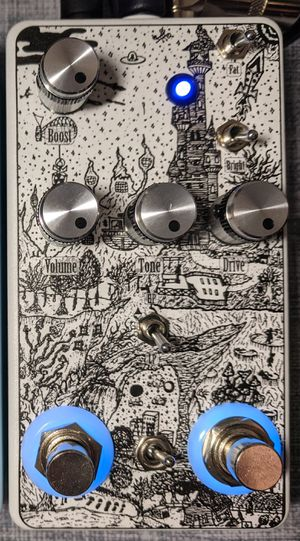 EP Booster + OCD v2 in small 125B. Guitar pedal for Sale in Lockport, IL
