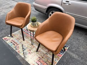 2 vintage style chairs😍NOT selling separate-Not selling other items-NO Holds for Sale in Garner, NC