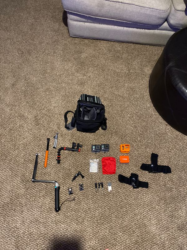 2 Gopro Hero's. Action Cameras