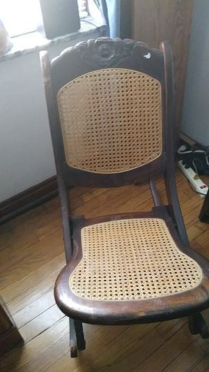 Small antique cane rocking chair for Sale in St. Louis, MO