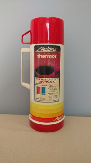 Vintage Aladdin's Thermos Sunburst Pattern 10 cup New 1984 for Sale in Allendale, NJ