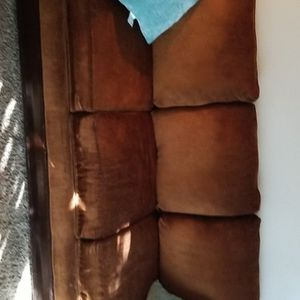 Brown Couch And Chair for Sale in Bloomington, CA