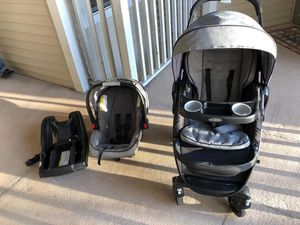 Graco Modes Travel system, Dayton . Stroller , car seat and base for Sale in Chantilly, VA
