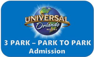 3 park universal tickets for Sale in FL, US