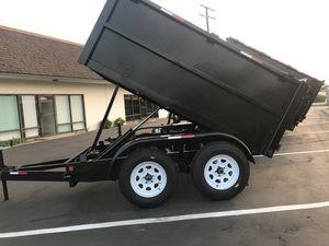 Dump Trailer 5x8x3 (New) for Sale in Colton, CA