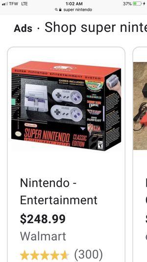 Super Nintendo 100$ for Sale in Houston, TX
