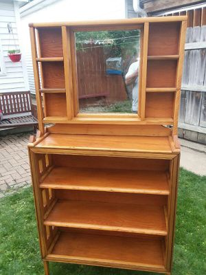 Solid Oak Bookshelf for Sale in Chicago, IL