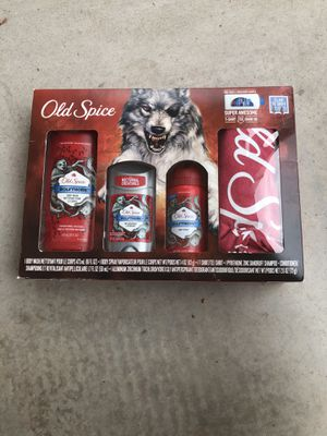 Old spice men's gift set for Sale in Rochester, NY