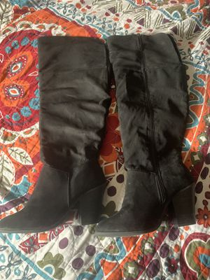 Lane Bryant Thigh High Heels Size 9W for Sale in New Orleans, LA