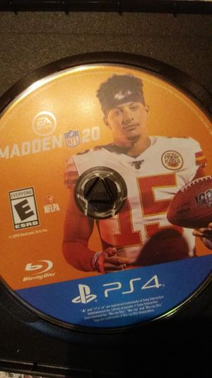 Madden 20 PS4 for Sale in Canonsburg, PA
