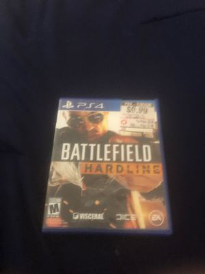 Battlefield Hardline PS4 for Sale in Perris, CA