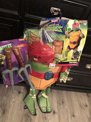NWT Teenage Mutant Ninja Turtle Halloween Costume for Sale in Cedar Hill, TX