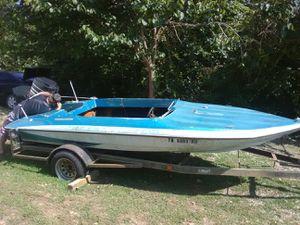 Boat-Clastron carlson, Mercury merine outboard motor for Sale in Lyles, TN