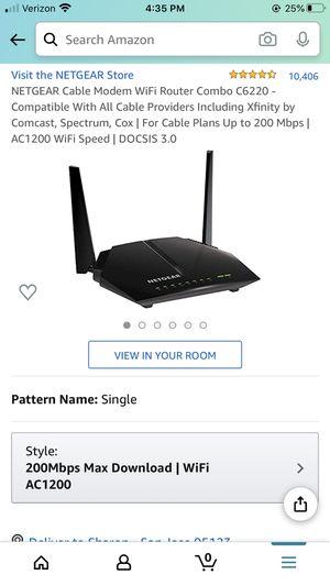 Netgear dual router modem for Sale in Seattle, WA