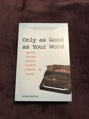 Only As Good as Your Word by Susan Shapiro for Sale in Harrisonburg, VA