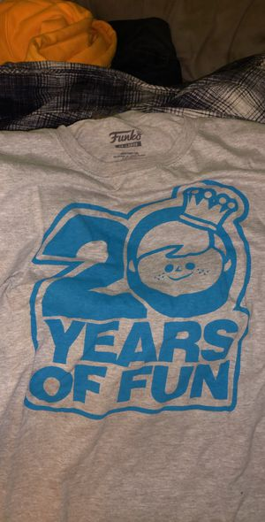 Funko Fundays 20 Years of Fun T-Shirt Size XXL for Sale in Westminster, CA