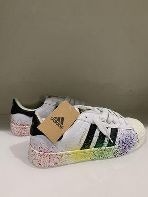 Women's Adidas Superstar Multicolor Size 9 Super Nice! for Sale in Miami, FL