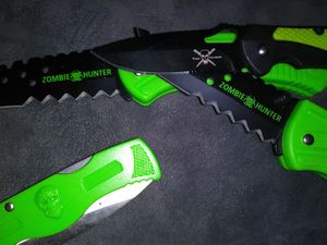Foldable ZOMBIE Hunter CAMPING TOOLS for Sale in Delair, NJ