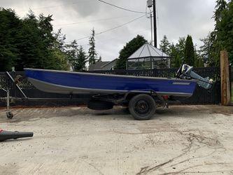 14' Starcraft aluminum boat for Sale in Seattle,  WA