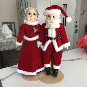 Mr & Mrs Santa Dolls for Sale in San Ramon, CA