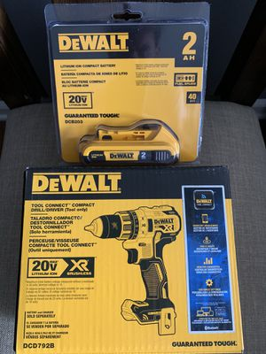 DeWALT COMPACT 20v DRILL/DRIVER SET for Sale in Pleasant Ridge, MI
