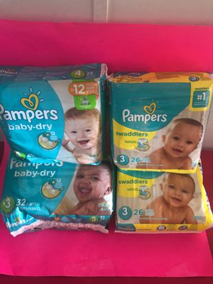 PAMPERS $6 EACH PACK for Sale in Wauchula, FL