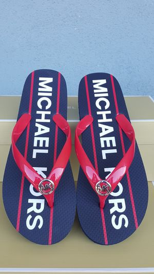 New Authentic Michael Kors Women's Flip Flops Size 7 and 10 ONLY for Sale in Montebello, CA