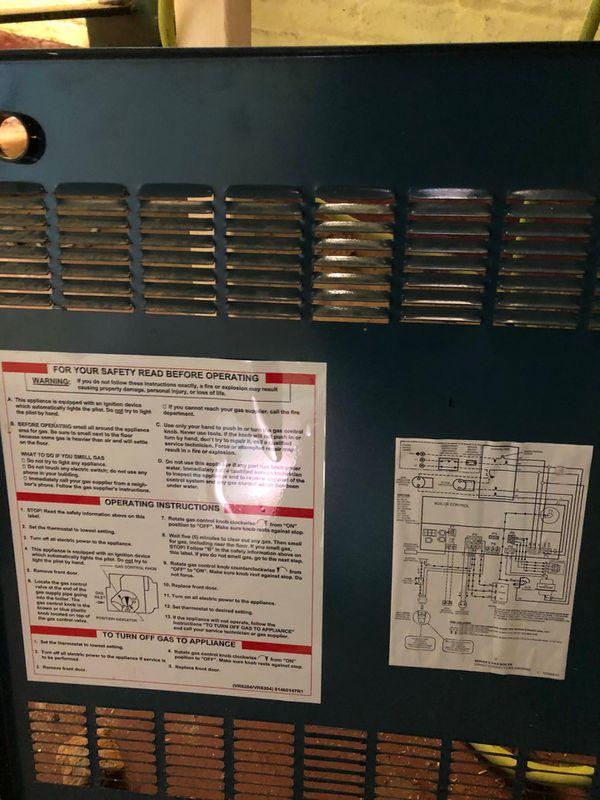 Burnham boiler / water heater