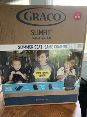 Graco slim fit 3 in 1 car seat for Sale in Mount Pocono, PA