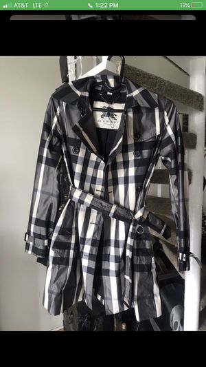 Burberry Black & White Women's Jacket for Sale in Coral Springs, FL