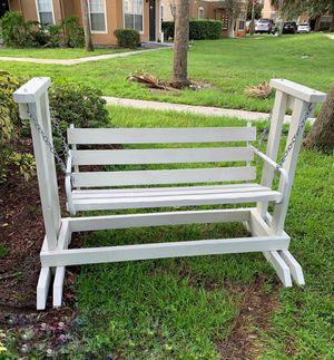 Wooden swing bench for Sale in Winter Garden, FL