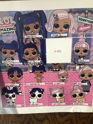 Lol surprise uptown family of 6....$50 for Sale in El Cajon, CA
