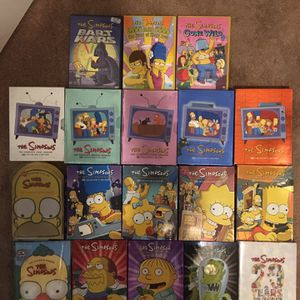 The SimpsonsDVD Collection for Sale in Los Angeles, CA