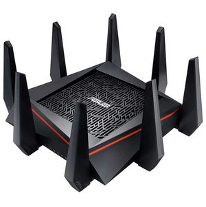ASUS RT-AC5300 AC5300 Tri-Band WiFi Gaming Router, MU-MIMO, AiProtection Lifetime Security by Trend Micro, AiMesh Compatible for Mesh WiFi System, WT for Sale in Coral Springs, FL