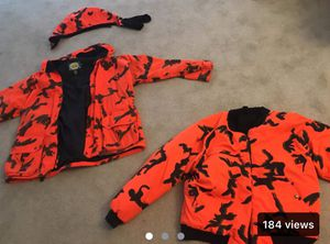 Hunting coat, vest and hood. Cabellas brand for Sale in Young, AZ