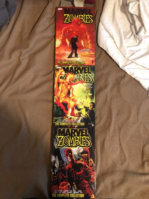 Marvel zombies complete collection vol1-3 for Sale in Port Orchard, WA