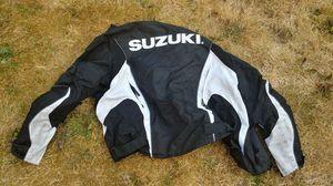 Suzuki motorcycle jacket for Sale in Marysville, WA